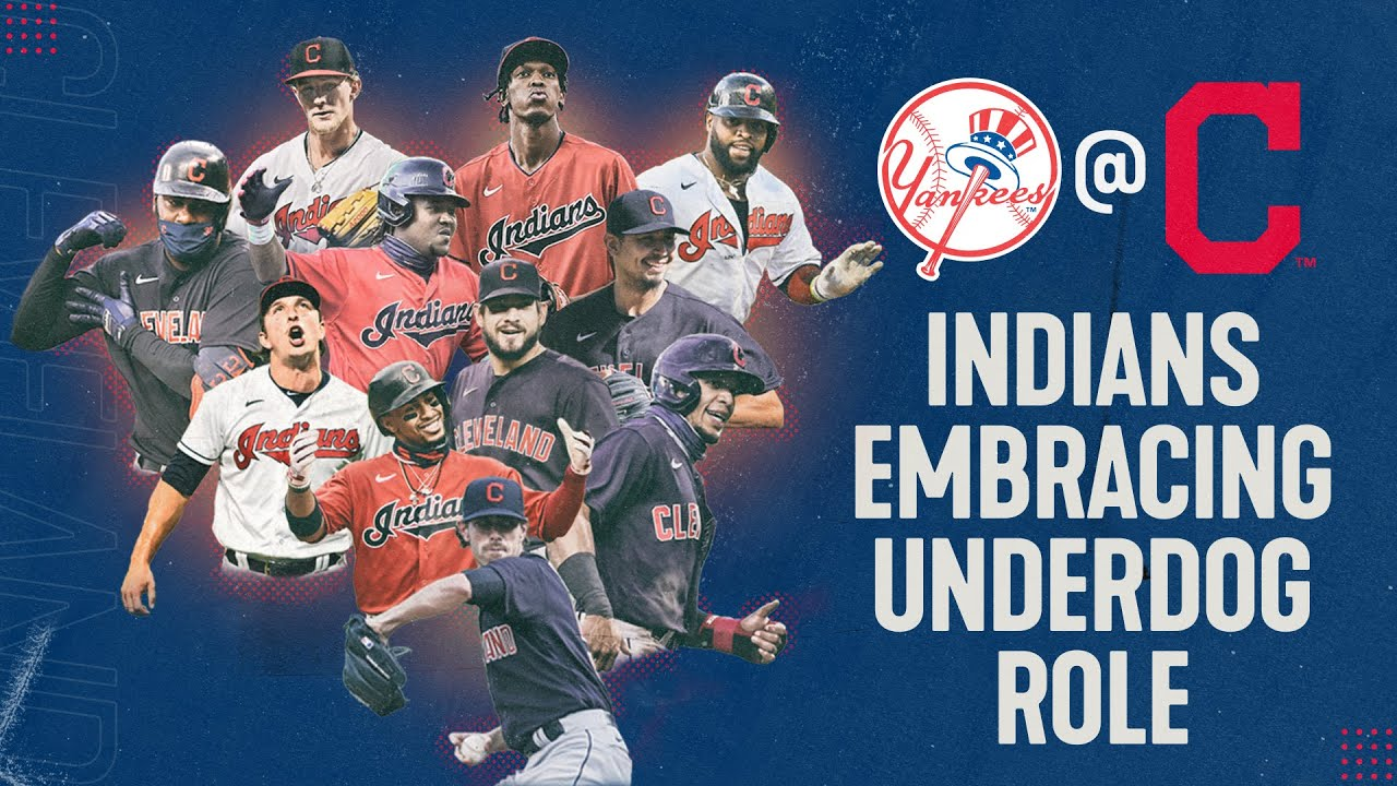 Cleveland Indians embracing underdog role in postseason matchup vs. New York Yankees