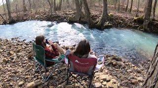 First Camping Trip oḟ 2020 | Ouachita National Forest Arkansas | Flatside Wilderness