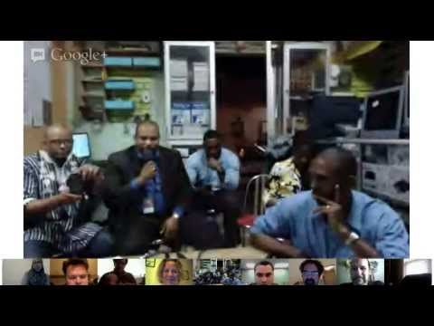 GeniusCorps and Living Bridges Geeks Gone Global Africa Hangout 1 from Senegal