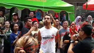 Download Video Tourists flocked in Jaksa Street, celebrating Indonesian Independence Day MP3 3GP MP4