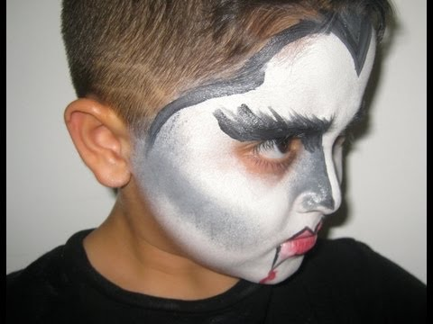 maquillaje para ni os dracula youtube On pintura de dracula para ninos