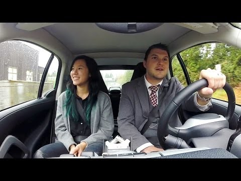 On The Road At UBC: Smart Car Conversations - Adam McCluskey And Caroline Wong