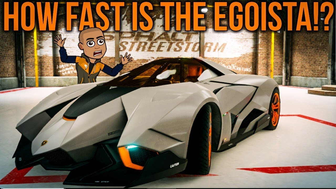 Lamborghini Egoista Review Asphalt Street Storm Racing Youtube