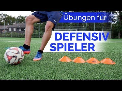 Besserer Abwehrspieler werden (Übungen)! - Drills für die Defensive