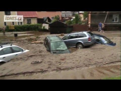 Flood waters wreck havoc across the Czech Republic