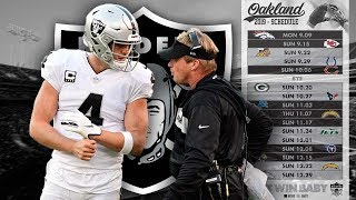 Oakland Raiders 2019 Schedule Reaction | Toughest Schedule in the NFL