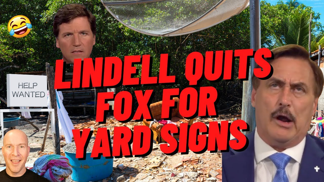 Mike Lindell Drops MyPillow From Fox, Begs Fans For Yard Signs