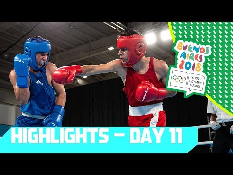 Gold Medals in Karate + Futsal & Boxing Heats Up!  | YOG 2018 Day 11 | Top Moments