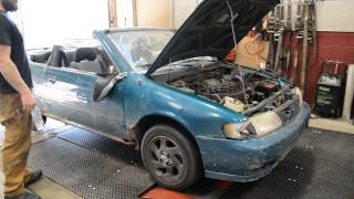 The Car that Will Not Die - Nitrous Nissan Sentra thumbnail