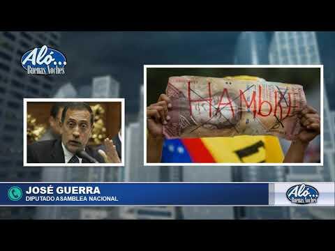 """ALO BN 08/01: JOSE GUERRA: """"LA MONEDA NACIONAL NO ESTA RESPALDADA"""""""