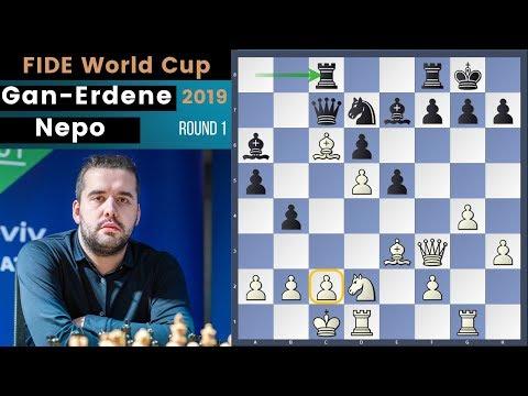 Najdorf Ideas! - Gan-Erdene vs Nepomniachtchi | Fide World Cup 2019