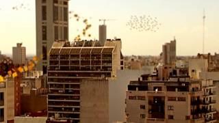 intervencin cba24n en la torre ngela de la ciudad de crdoba