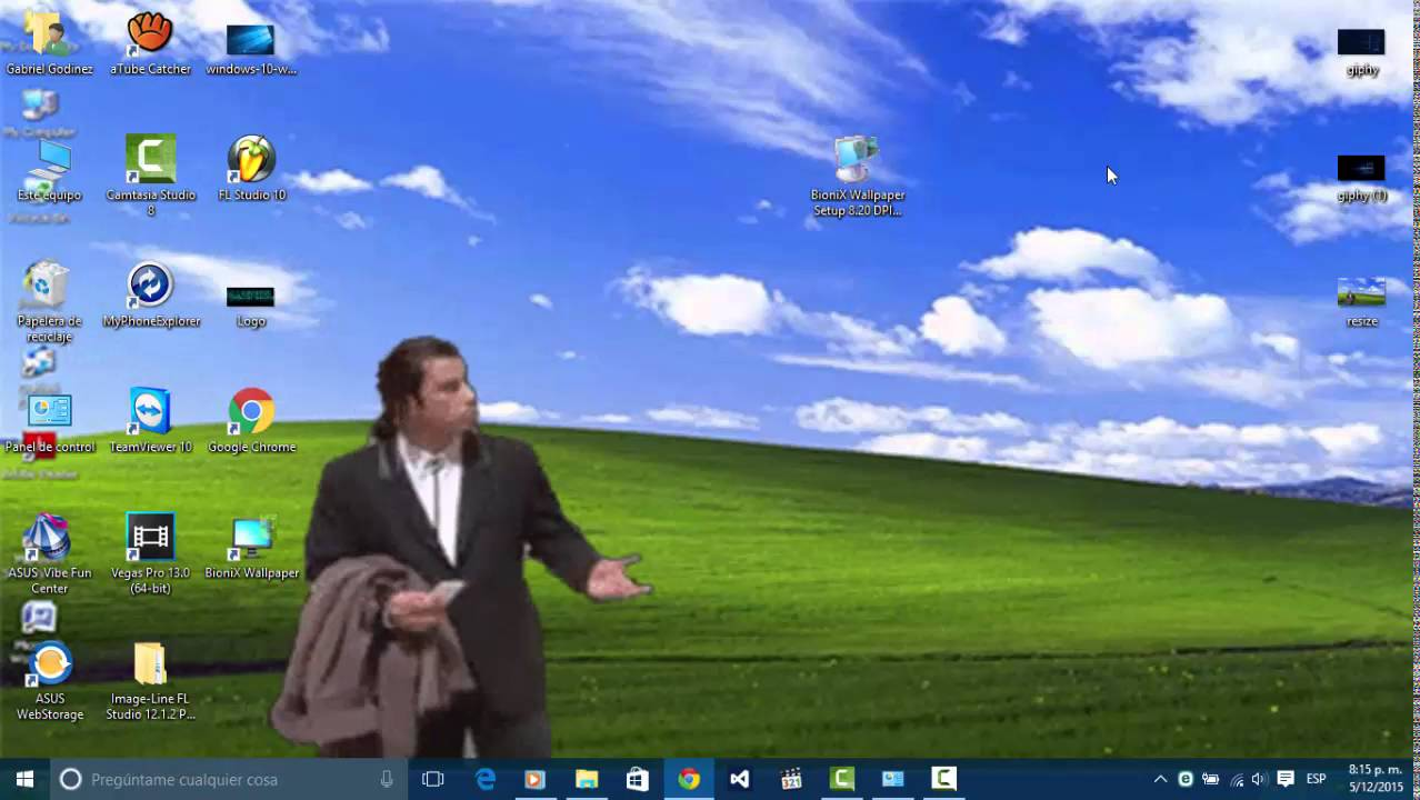 Fondo de pantalla animado en windows 10 youtube for Wallpaper interactivo