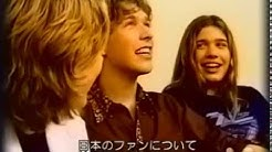 Hanson  - interview + Wish that I was there (acoustic) - Japan (April 2000)