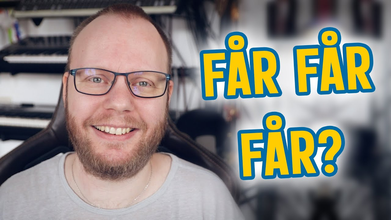 """Få"" is a versatile Swedish word (Swedish Vocabulary Building)"