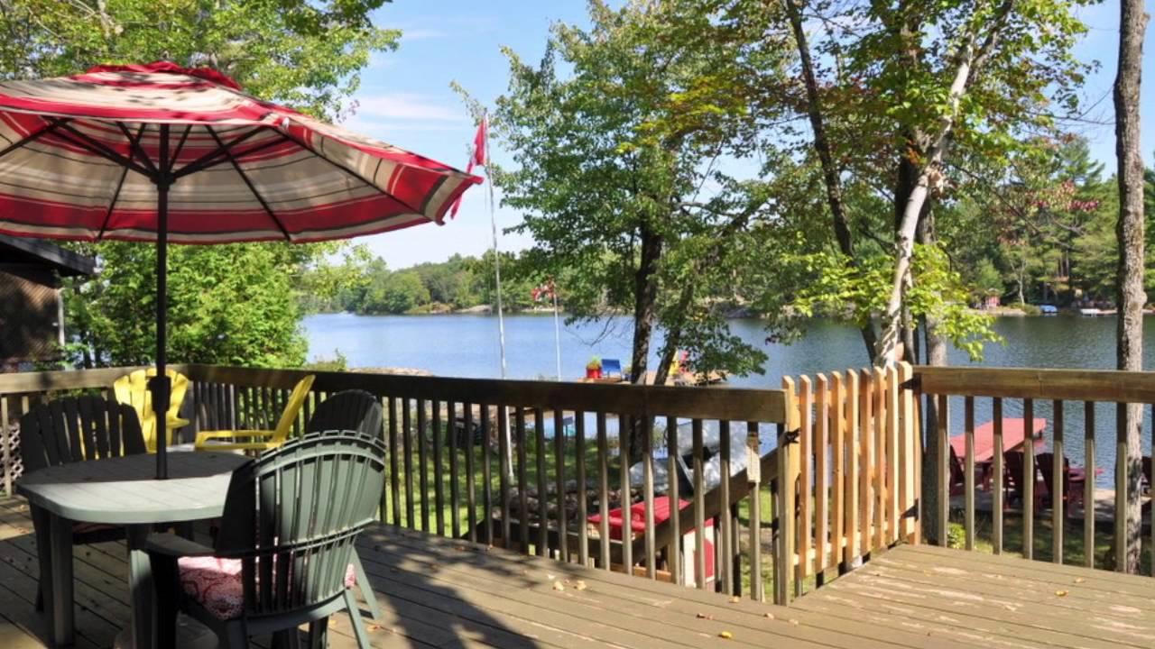 Muskoka Cottage For Rent: #904 On Clearwater Lake Near Gravenhurst Ontario