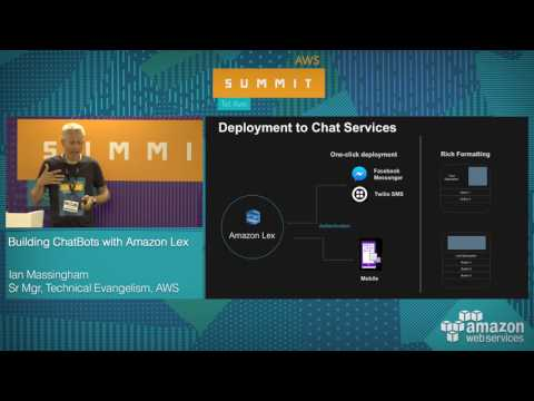 AWS Summit Tel Aviv 2017: Building ChatBots with Amazon Lex