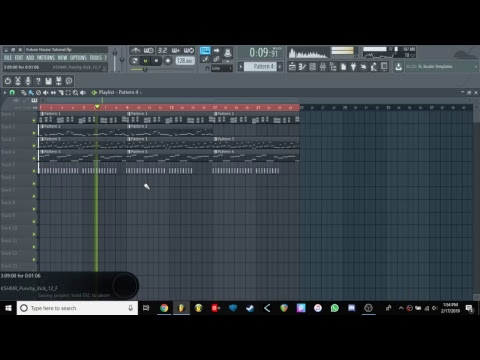 Track From Scratch 1 - Future House (Part 1)
