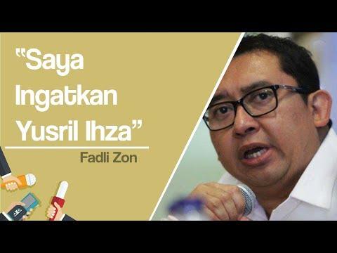 Fadli Zon: Ingat Yusril Ihza Mahendra, Saya dan Pak Prabowo Ikut Membantu Lahirkan PBB Mp3
