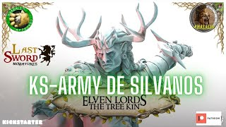 KS🍀LAST SWORD ARMY ELFOS SILVANOS 🍀Elven Lords The Tree Kin