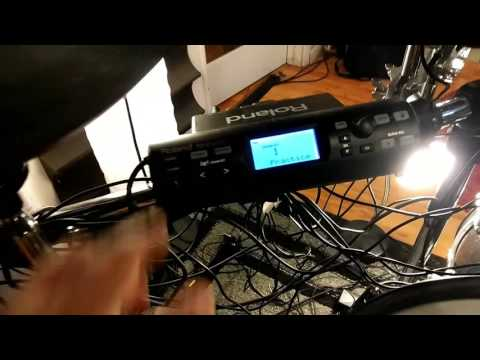 hook up electronic drums