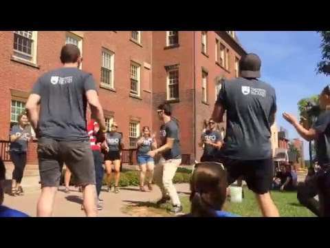 UPEI NSO 2015 - Captain Mob Dance -