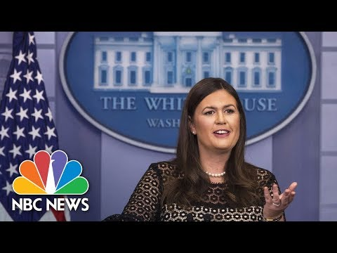 Sarah Huckabee Sanders Leads Panel On President Trump's First Year In Office (Full) | NBC News