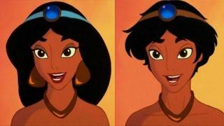 10 Disney Charaktere als anderes Geschlecht thumbnail