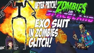 Zombies In Spaceland EXO SUIT IN ZOMBIES GLITCH AFTER PATCH METHOD!!!! AMAZING GLITCH!!!