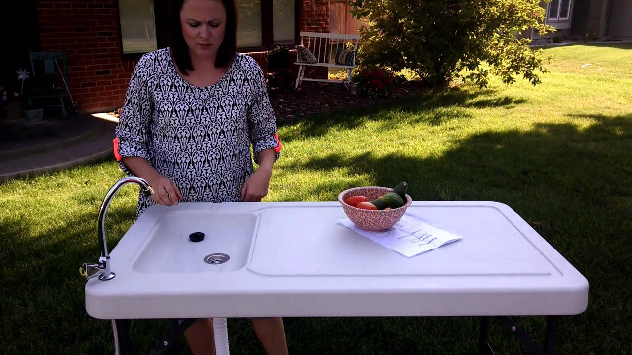outdoor sink table review from brylanehome