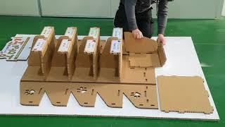 종이매대조립(오마이도기)paper-k