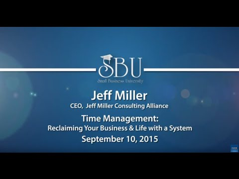 Small Business University: Jeff Miller