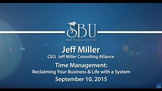 Small Business University: Jeff Miller
