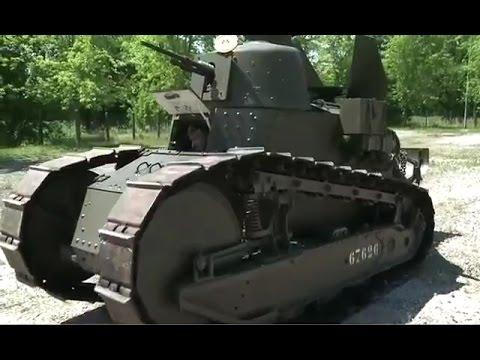 Renault Ft 17 French Light Tank Youtube