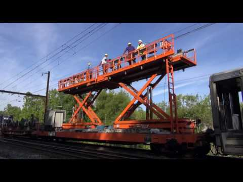 August 2016 Update: Construction Along Media/Elwyn Regional Rail Line