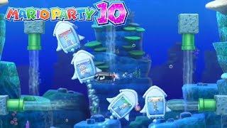 Mario Party 10 - Wario vs Daisy vs Rosalina vs Luigi - Coin Challenge Gameplay(Hard Difficult)#54