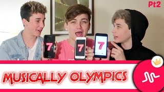 musically olympics ft brandon rowland hunter rowland cringe warning