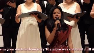 Srey Ty sings at Amo Group Praise Festival 2019 (Jang Chun Art Hall) 4K