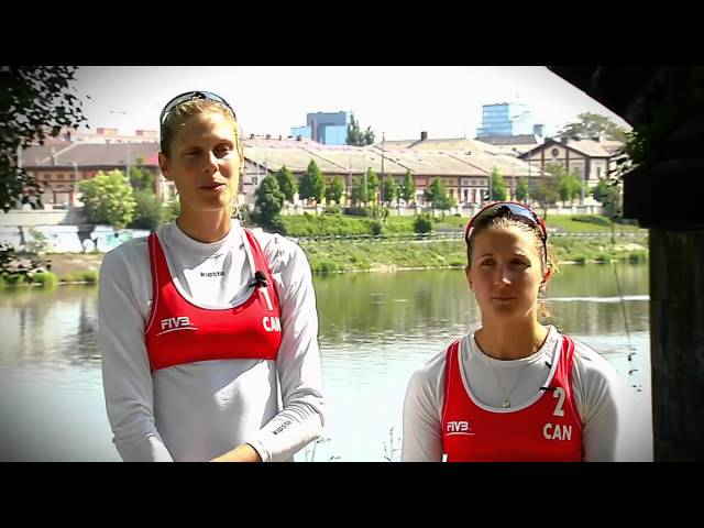 FIVB Feature: Canadas Sarah Pavan and Heather Bansley