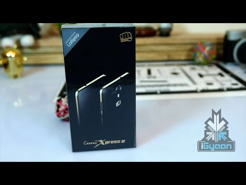 Micromax Canvas Xpress 2 Unboxing and Hands On - iGyaan 4K