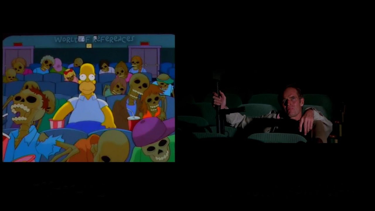 The Simpsons Treehouse Of Horror Movie References Part 8 Youtube