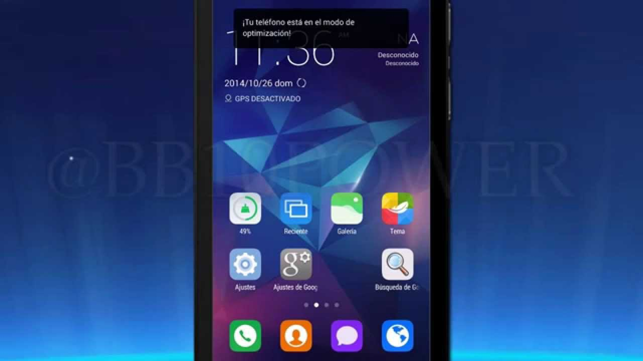 ZERO Android Launcher on BlackBerry Z10 Sneak Peek