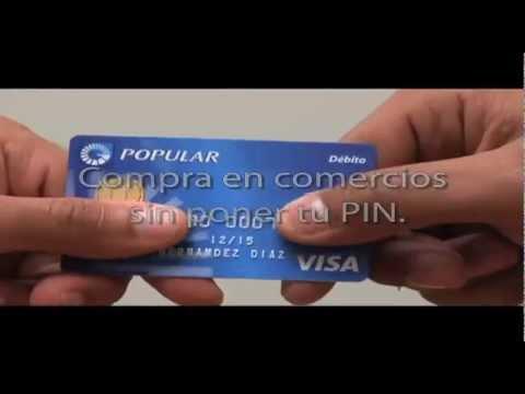 Tarjeta Débito con Chip del Banco Popular