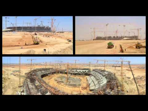 King Abdullah Sports Stadium Construction - Jeddah KASC