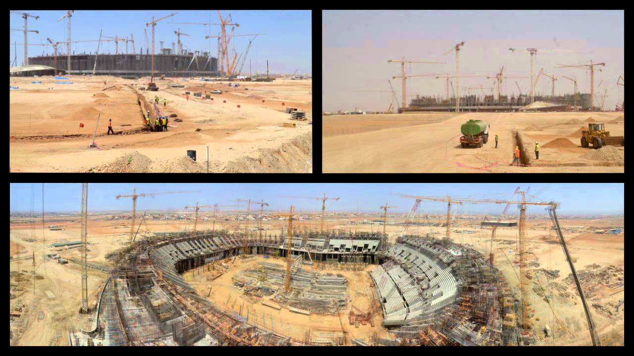 sports stadium construction