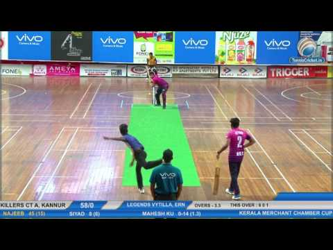 Killers CT A VS Legends Vytilla | KMCC 2017 | Indoor Cricket Live Kerala