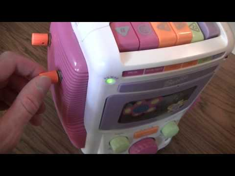 Circuit Bent Barbie Sing-a-Long Karaoke Cassette Player - Diederich Electronics