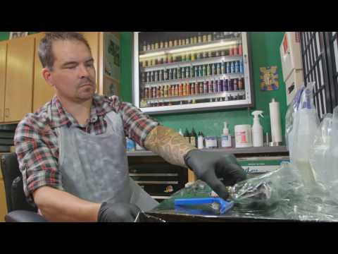 Review of Oregon tattooing safety and sanitation rules