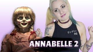 ANNABELLE 2 Crítica NÃO ASSISTA ESSE VÍDEO SE TEM MEDO/ Ft Annabelle (ALicereja)