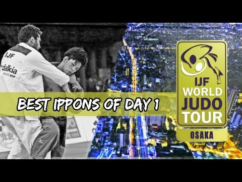 Best ippons in day 1 of Judo Grand Slam Osaka 2018